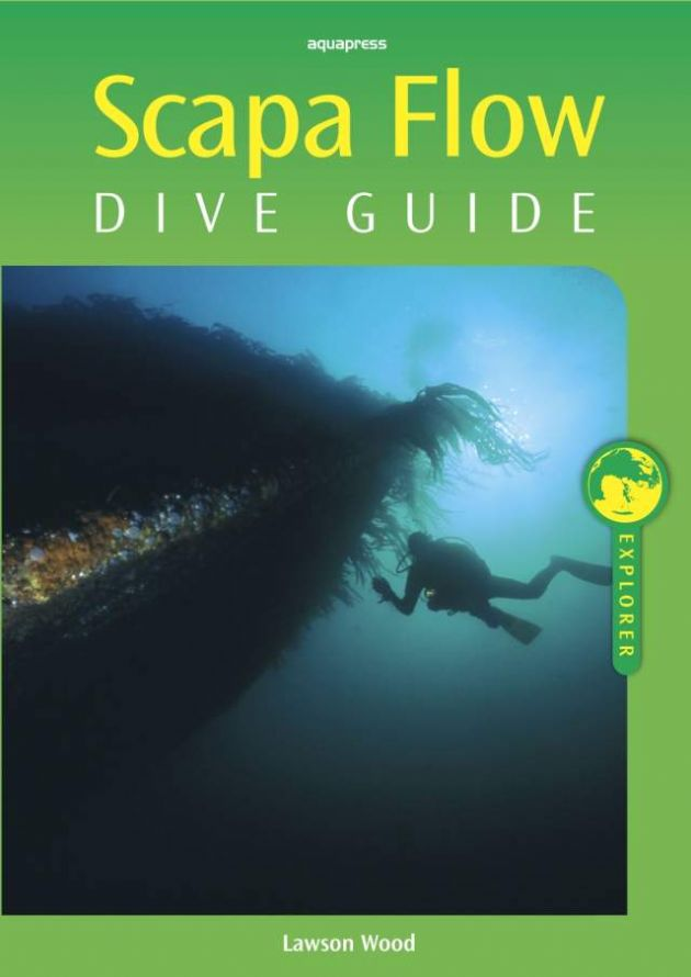 PDC 70 BOOK SCAPA FLOW DIVE GUIDE